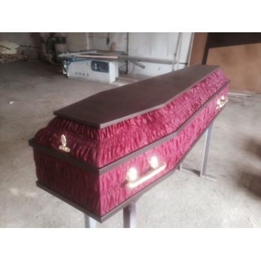 Гроб обивочный